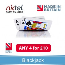 Nictel BlackJack Absinthe E-liquid ANY 4 for £10 - 10 for £22