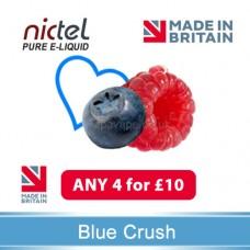 Nictel Blue Crush E-liquid ANY 4 for £10 - 10 for £22