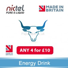 Nictel Energy Drink E-liquid ANY 4 for £10 - 10 for £22