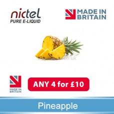 Nictel Pineapple E-liquid ANY 4 for £10 - 10 for £22