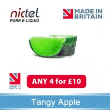 Nictel Tangy Apple E-liquid ANY 4 for £10 - 10 for £22