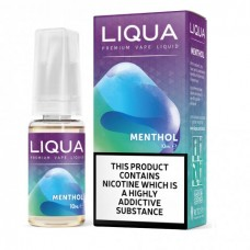 Liqua Elements Menthol 3 For £10 6 for £18