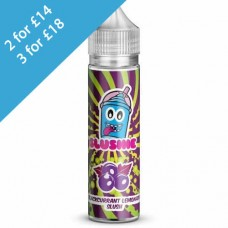 SLUSHIE BLACKCURRANT LEMONADE 50ml Bottle Any 2 for £15